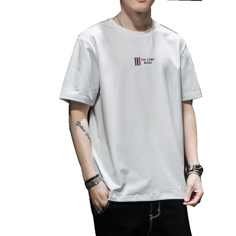 2020新款潮流纯棉长袖男士t恤