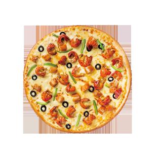 美臣9寸小龙虾鸡肉薄底披萨饼披萨