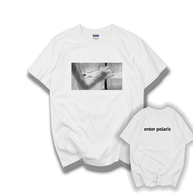 创意羞耻Skam周边马老师同款enter polaris男女棉质短袖T恤半袖