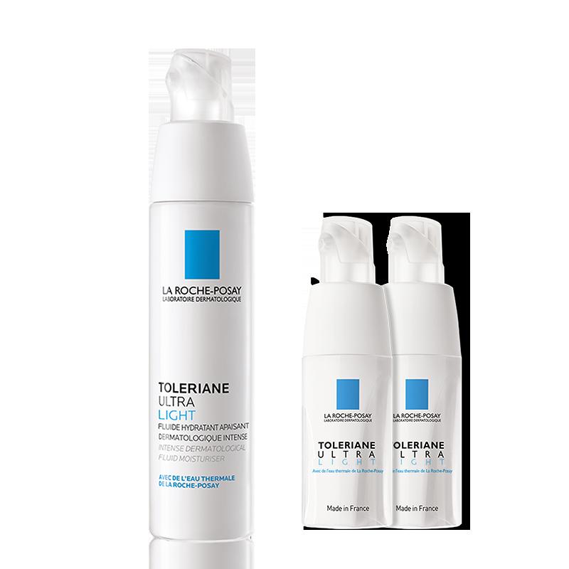 理肤泉安心霜乳液40ml 敏感肌滋润面霜补水保湿修护肌肤屏障