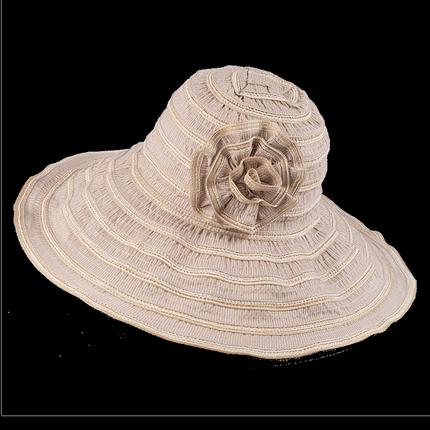 遮脸防紫外线折叠夏天沙滩夏遮阳帽