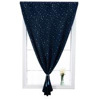 免打孔安装遮阳布隔热简易小窗帘伸缩杆卧室全遮光魔术粘贴式租房