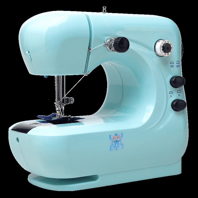 家毅306a家用电动小型迷你缝纫机