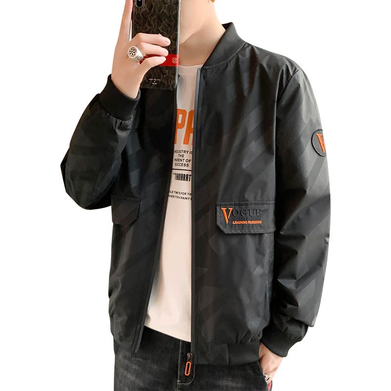2020秋季韩版帅气潮流工装夹克