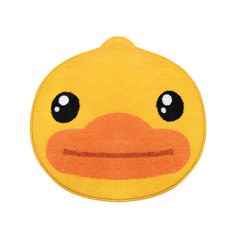 正版小黄鸭门口家用厕所吸水门垫质量好不好