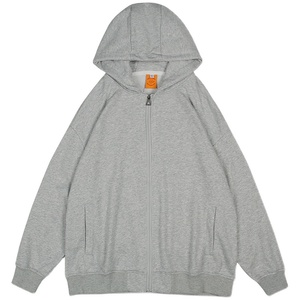 tuoke脱壳早秋灰色开衫新款卫衣