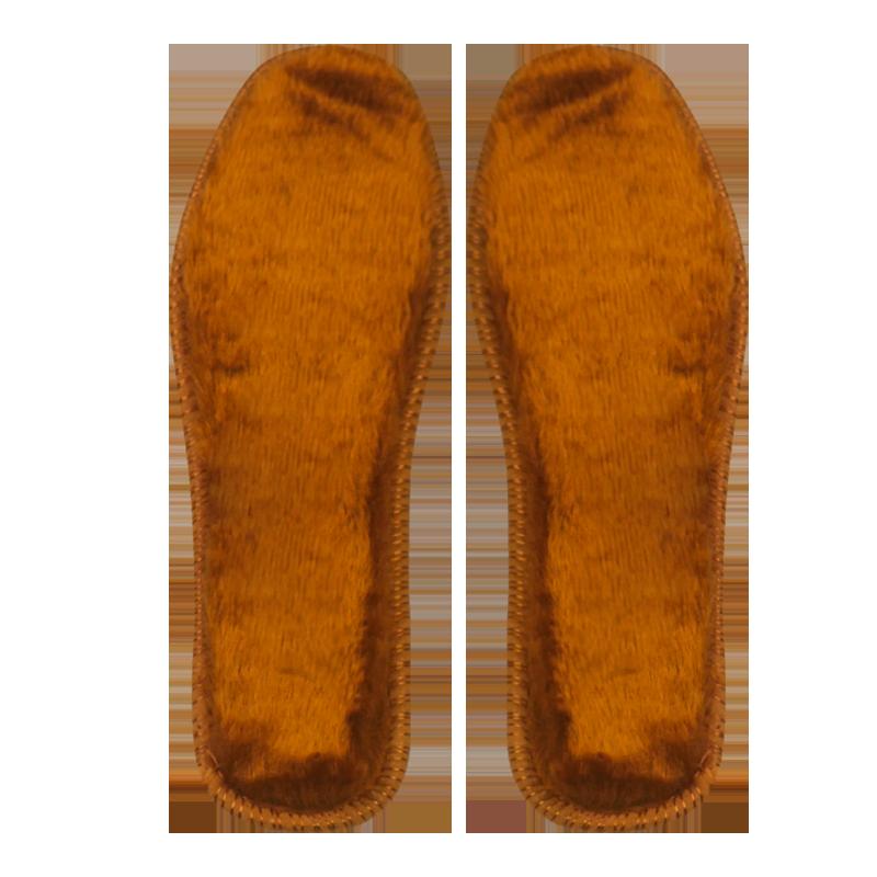 羊毛保暖鞋垫软底舒适男女冬季加厚加绒棉绒防寒防臭毛绒软棉鞋垫