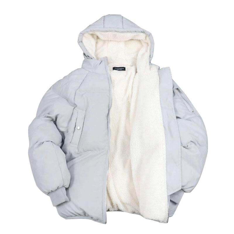 2018冬装新款情侣面包服棉服羊羔绒外套女韩版短款学生chic棉衣潮