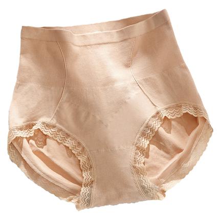 石墨烯高腰收腹女塑形束腰三角裤