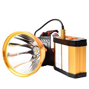 led强光充电超亮p90 12锂电钓鱼灯