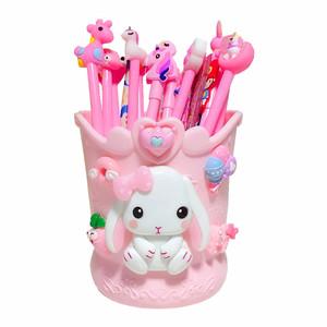 创意儿童办公笔筒可爱大容量收纳盒