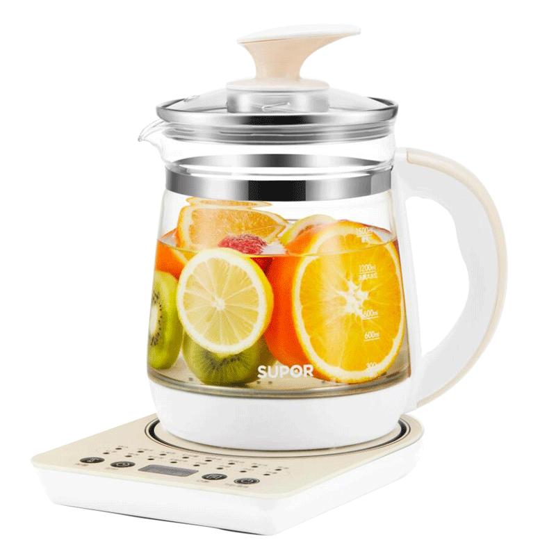 【苏泊尔】养生壶玻璃电全自动花茶壶