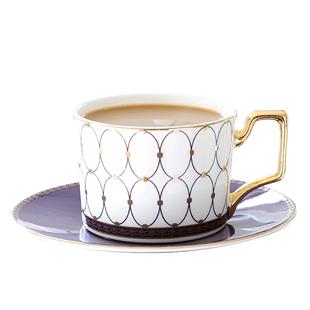 歐式下午茶茶具套裝英式咖啡杯包金骨瓷茶壺家用咖啡套具小奢華