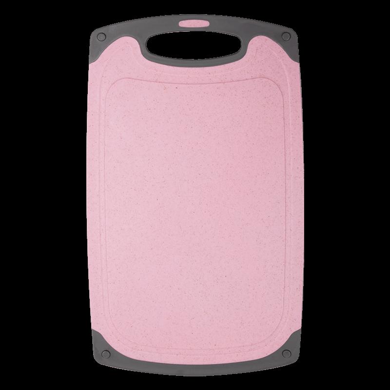 香彩小麦桔杆菜板切水果砧板家用厨房擀面板防霉抗菌占板粘板北欧