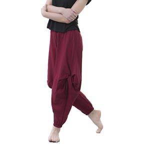 现代舞蹈服裤子阔腿表演出练功裤子