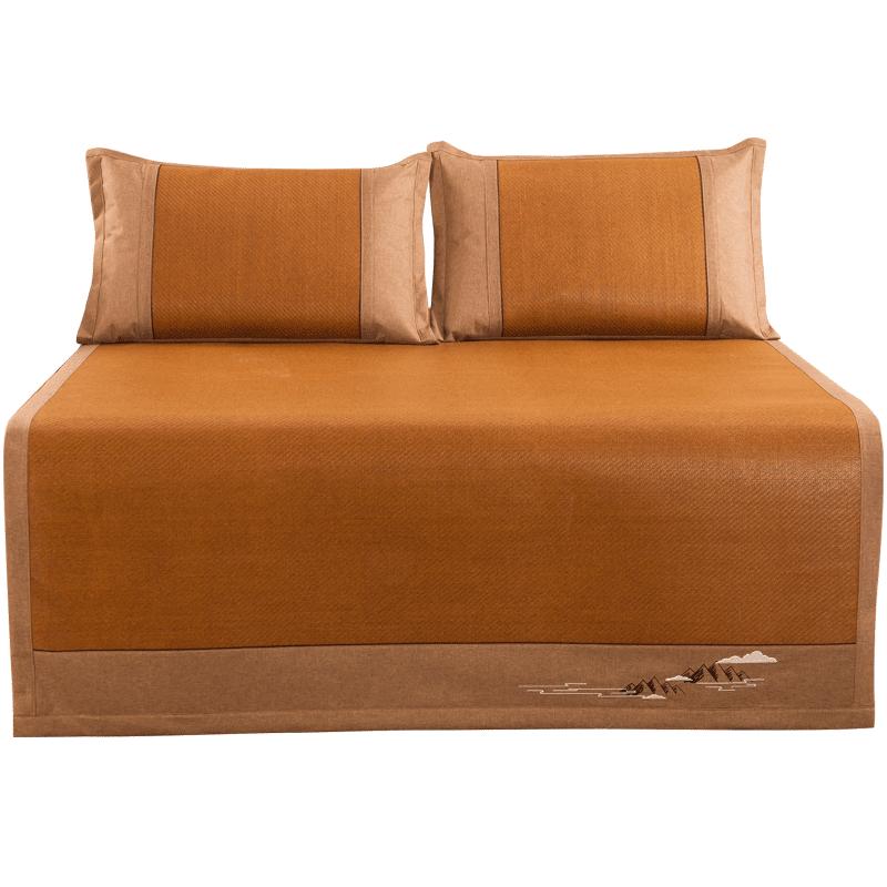 【小绵羊】1.5m床凉席三件套藤席