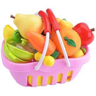 寶寶水果切切樂疏菜套裝組合可一歲2女孩3兒童廚房過家家益智玩具