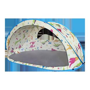 户外帳篷大型全自動速開免搭建野營遮陽防曬沙灘家庭野餐兒童公園