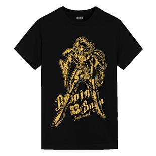 聖鬥士聯名T恤UTEE正版授權黃金十二宮撒加穆情侶短袖純棉潮牌