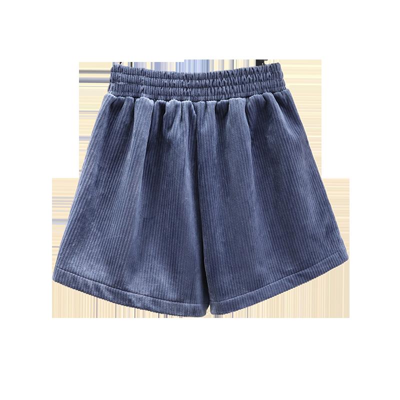 【梦语薇】秋冬新款灯芯绒短裤