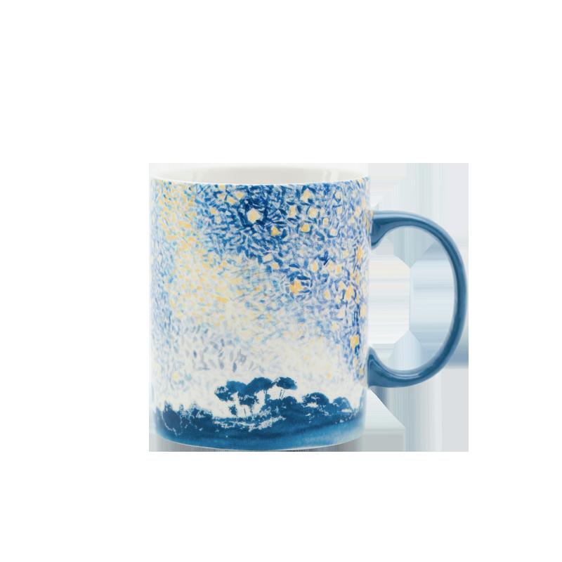 大都会博物馆马克杯便携水杯子创意实用生日咖啡杯教师节礼物长辈