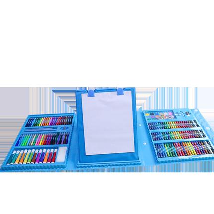 208件中性水彩笔画彩色3-6蜡笔