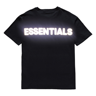FOG複線Essentials 3M反光字母印花短袖高街潮牌T恤Fear Of God