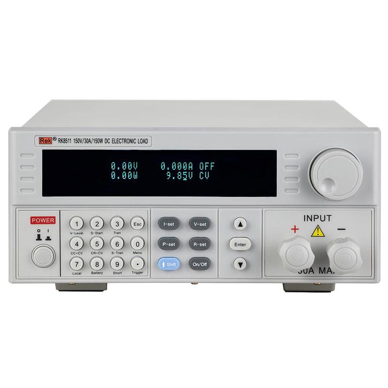 美瑞克可编程直流电子负载仪RK8511/8512大功率150W电池负载测试