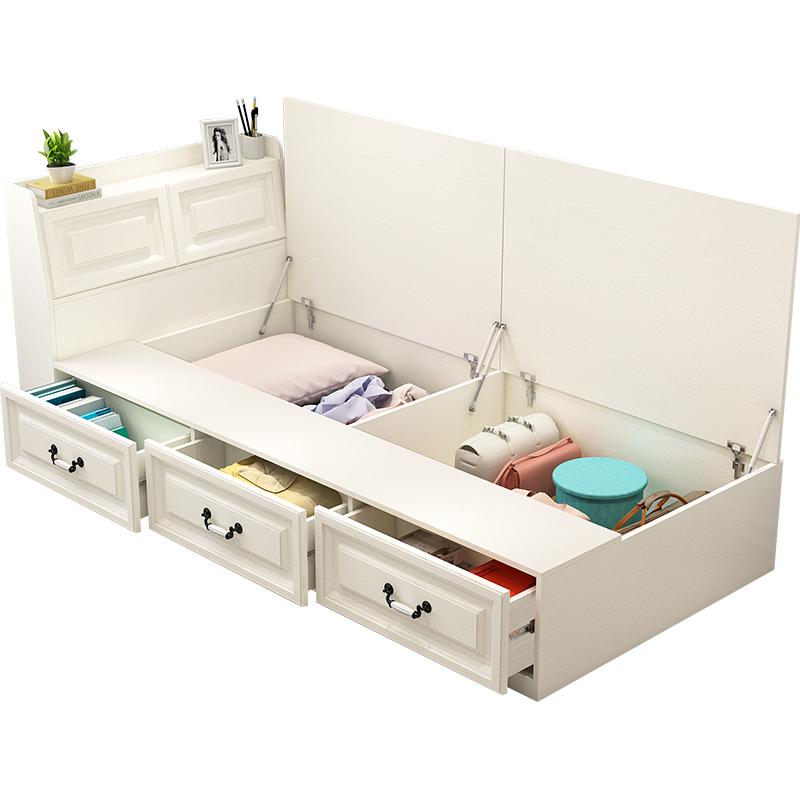 北欧式单人床现代简约卧室沙发床评测参考
