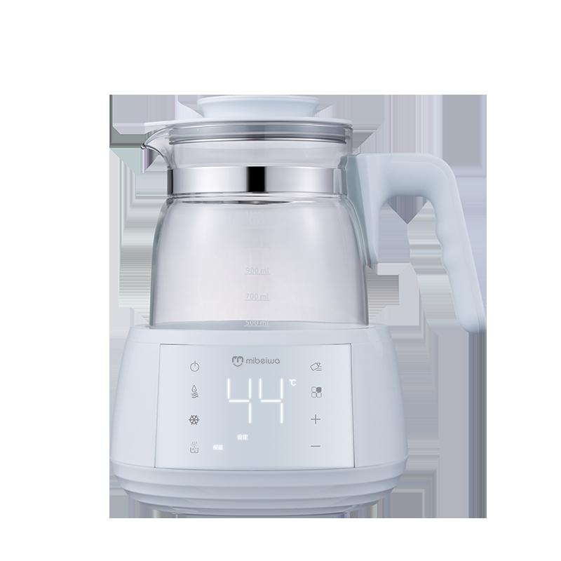 恒温调奶器热水壶 婴儿冲奶粉保温恒温壶全自动智能冲奶机玻璃壶