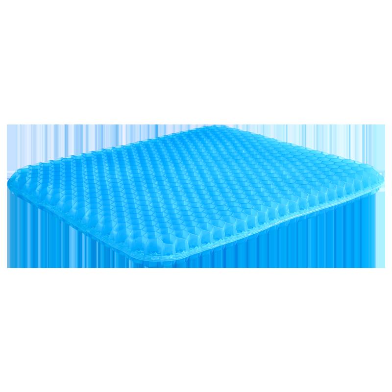 坐垫夏天透气蜂窝凝胶清凉冰凉垫夏季多功能汽车车用学生鸡蛋冰垫