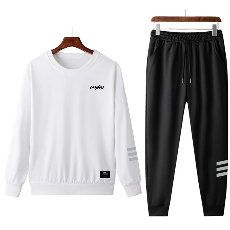 2020新款春季男士卫衣套装