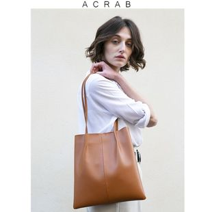 The frankie shop 代購款 Caramel Small Leather Tote Bag