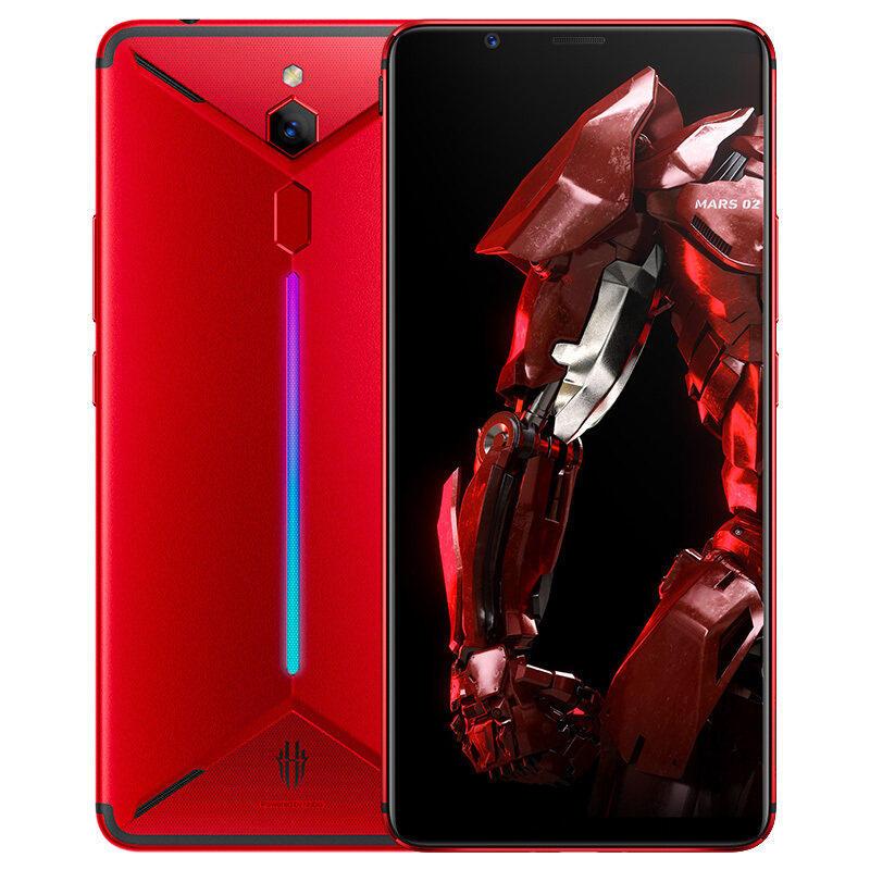 红魔3代【分期免息】nubia/努比亚 红魔Mars电竞游戏手机 红魔2三代官方正品手机全网通 高通晓龙855