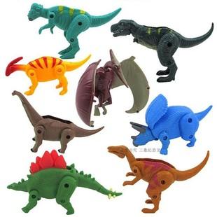 仿真动物塑料变形拼装模型恐龙玩具
