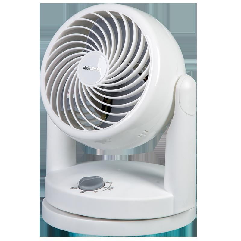 爱丽思IRIS日本迷你空气循环扇静音节能家用电风扇台式涡轮对流扇