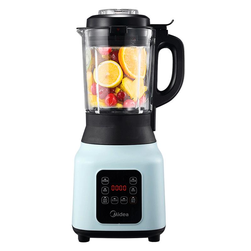 美的新款破壁机小型家用豆浆料理机全自动加热辅食多功能旗舰正品,免费领取100元淘宝优惠券