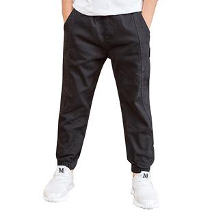 童装加绒2020加厚秋装儿童男童裤子