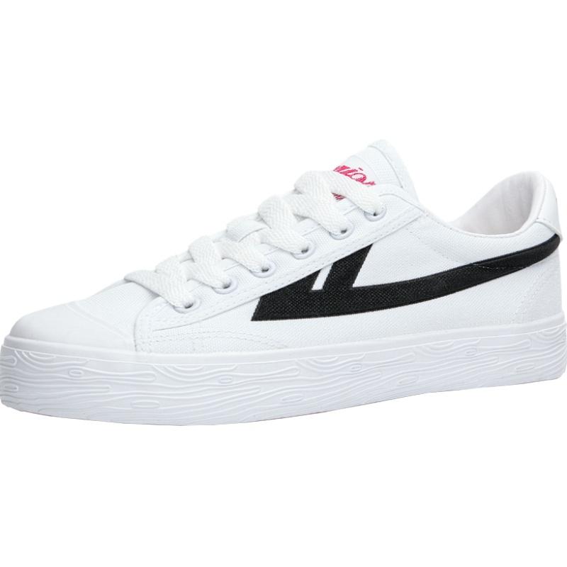 回力旗舰店官方男女鞋百搭布面板鞋评价如何