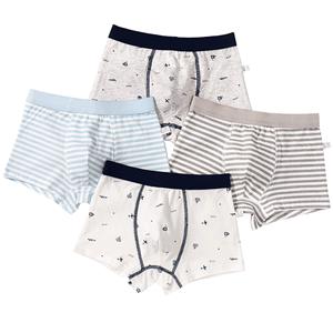 男童纯棉中大童12 15岁100%四角短裤