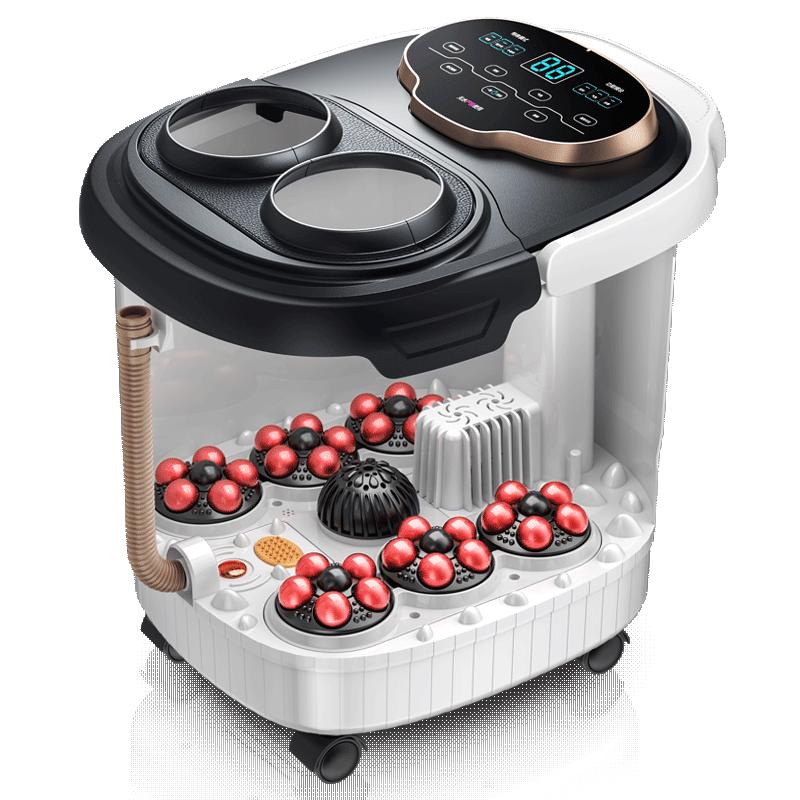 AUX/奥克斯泡脚桶全自动恒温加热洗脚盆家用电动按摩高深足浴盆桶