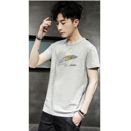 2019夏季新款半袖潮牌学生韩版t恤