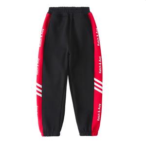 女童2021款纯棉洋气中大童运动裤