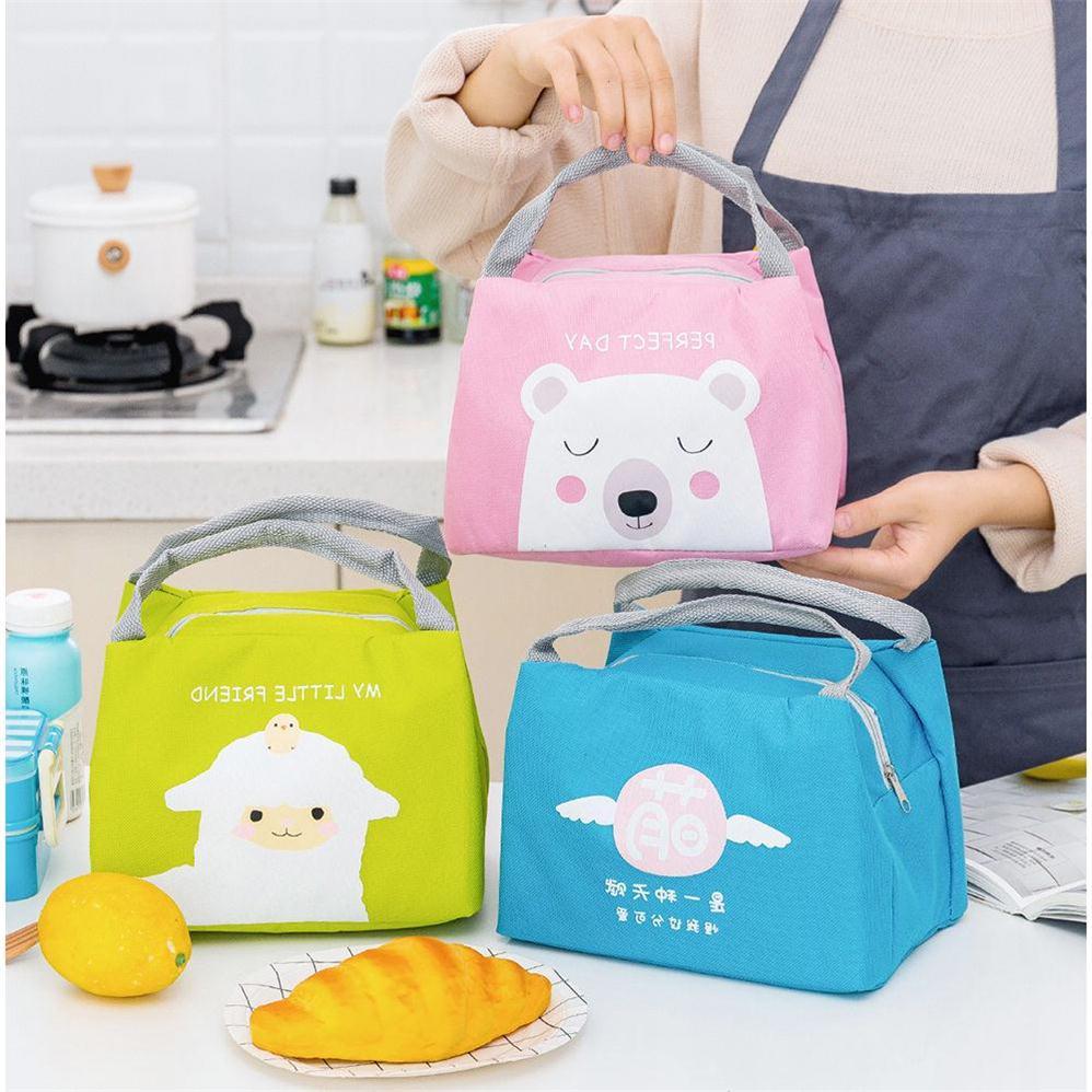 Lunch bag, lunch bag, heat preservation bucket bag, portable round lunch box bag, lunch box, heat preservation bucket bag with rice bag
