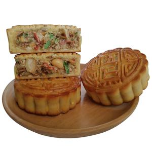【5个口味】东北老式月饼100g*5块
