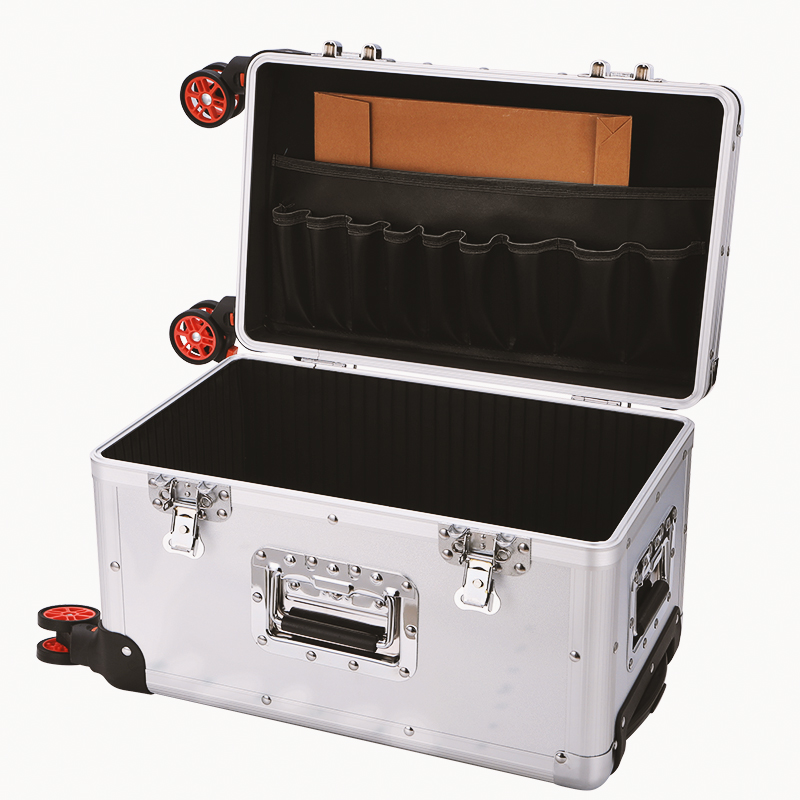 Multi functional medical box first aid box pull rod type medical call box 120 rescue box medical supplies storage