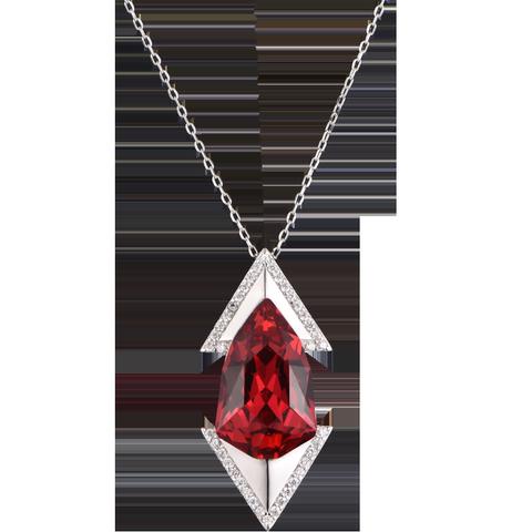 兰盈Crystals from Swarovski项链 欧美风吊坠女短款挂饰生日礼物