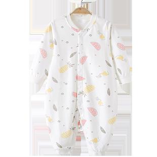 嬰兒連體衣春秋冬季純棉男女寶寶秋裝新生兒衣服冬裝哈衣爬服睡衣