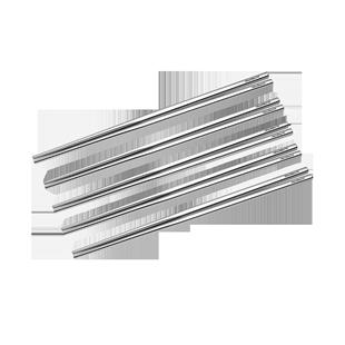 304家用筷防滑方形高档不锈钢筷子