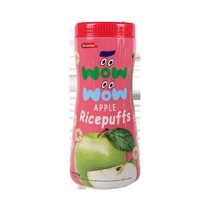 脆妮妮苹果辅食饼干42g苹果味泡芙